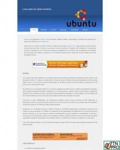 Ubuntu.com.es Vieja