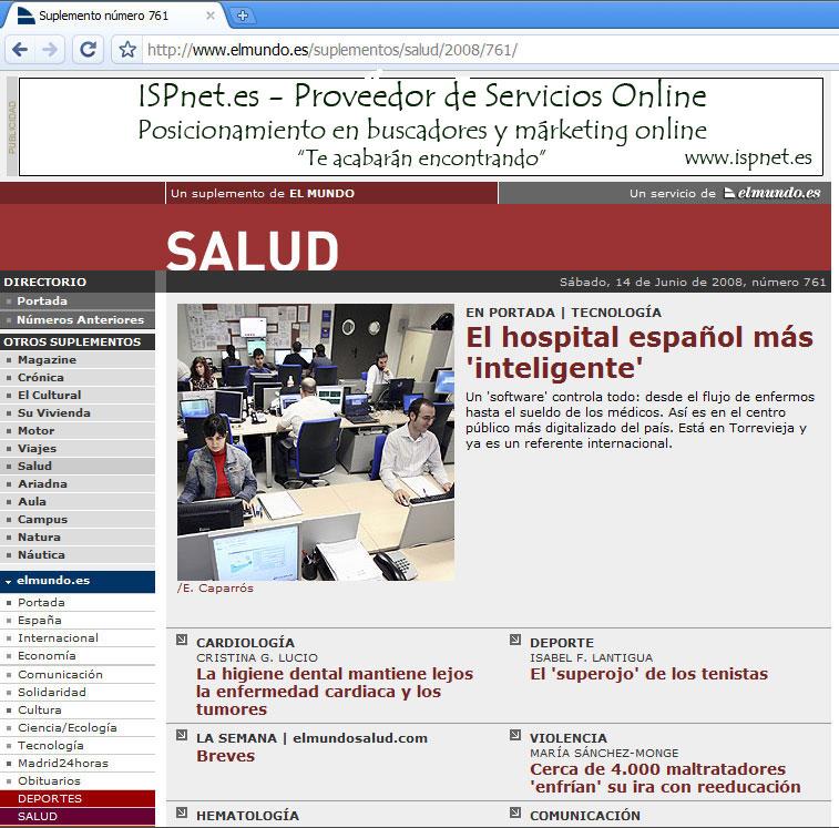 Hospital de Torrevieja - Dpto. Sistemas