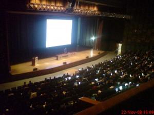 Foto desde el anfiteatro